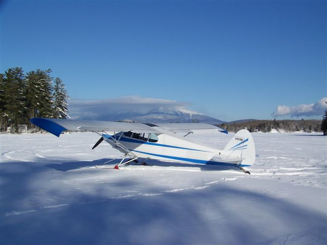 Ski plane flying is just about as good as it gets!  Here's the Super Cruiser in its natural environment